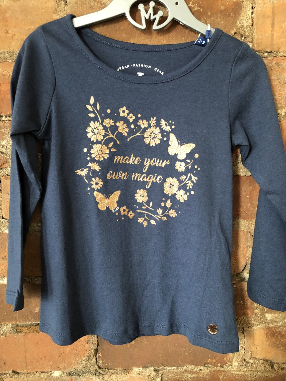 Make Your Own Magic Glitter Long Sleeve Tee - Lullaby's Boutique