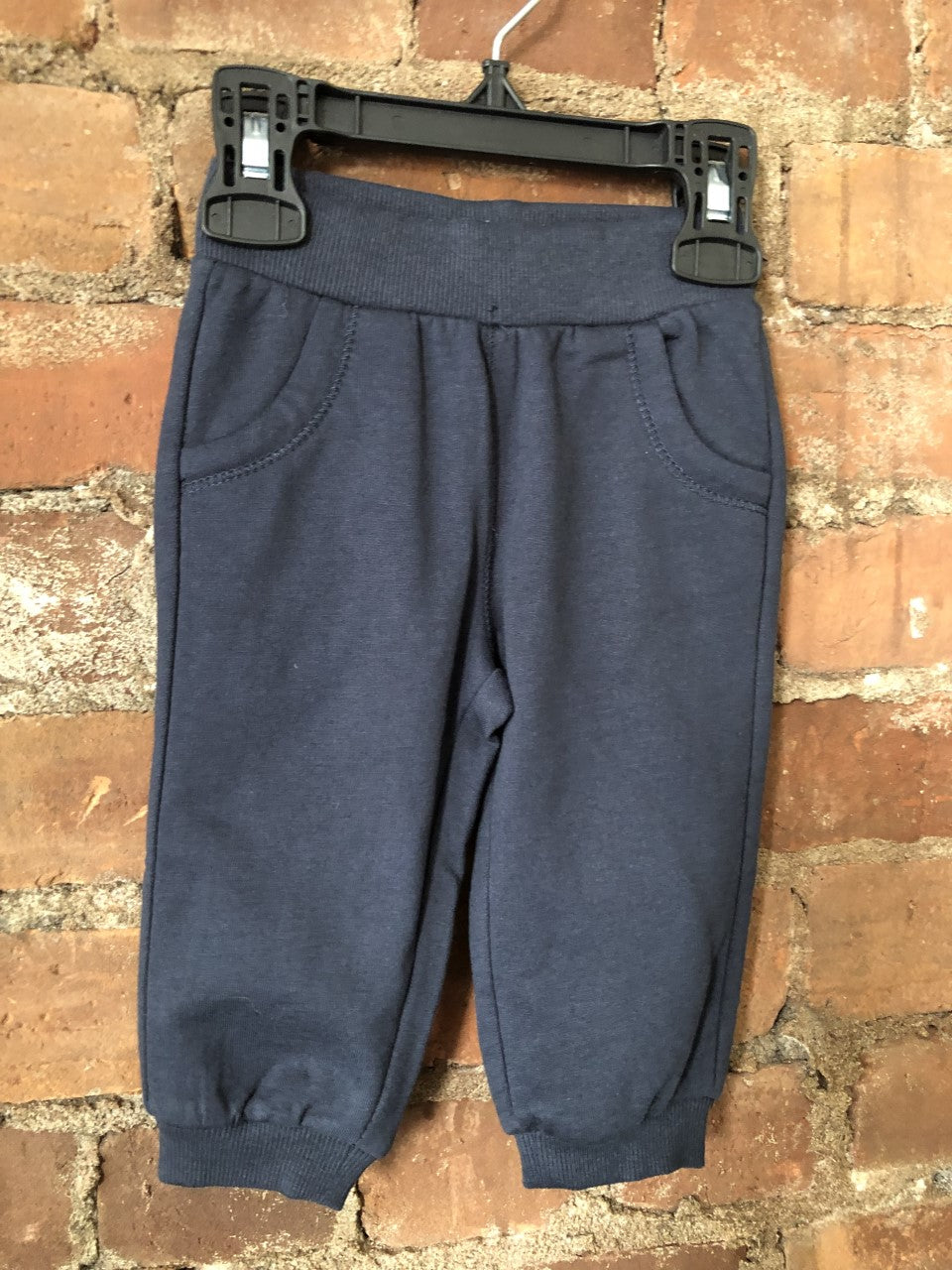 Dark Blue Baby Basics Joggers Sweatpants - Lullaby's Boutique