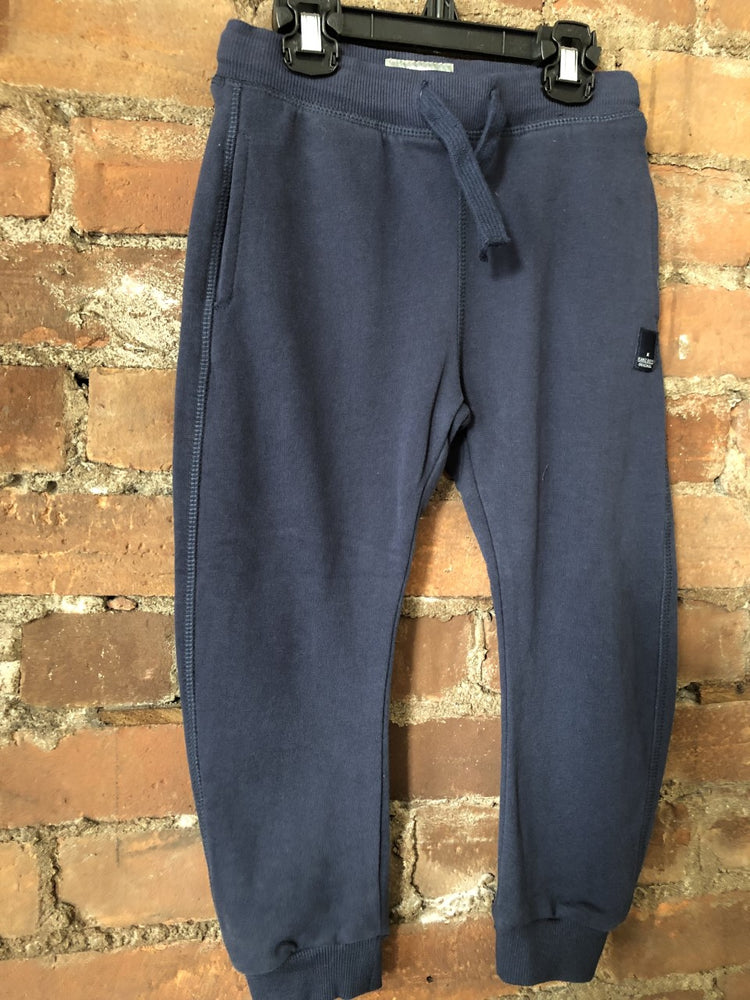 Dark Blue Baseline Sweatpant Joggers - Lullaby's Boutique