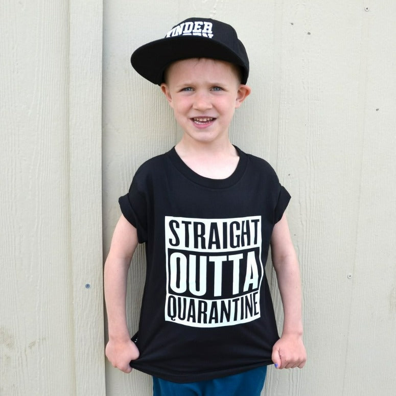 Straight Outta Quarantine Tee - Lullaby's Boutique