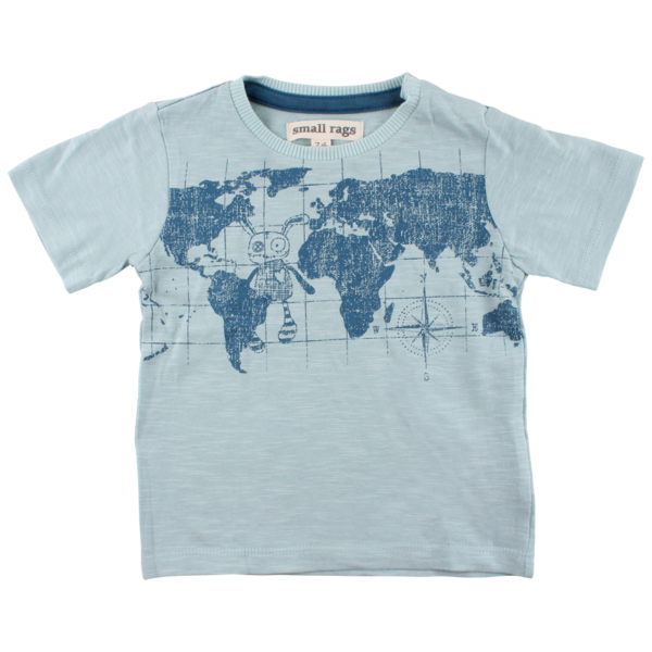 World Map Tee - Lullaby's Boutique