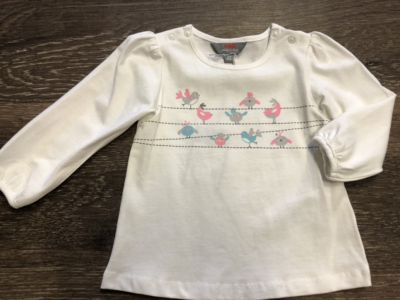 Winter Birds Long Sleeve Tee - Lullaby's Boutique