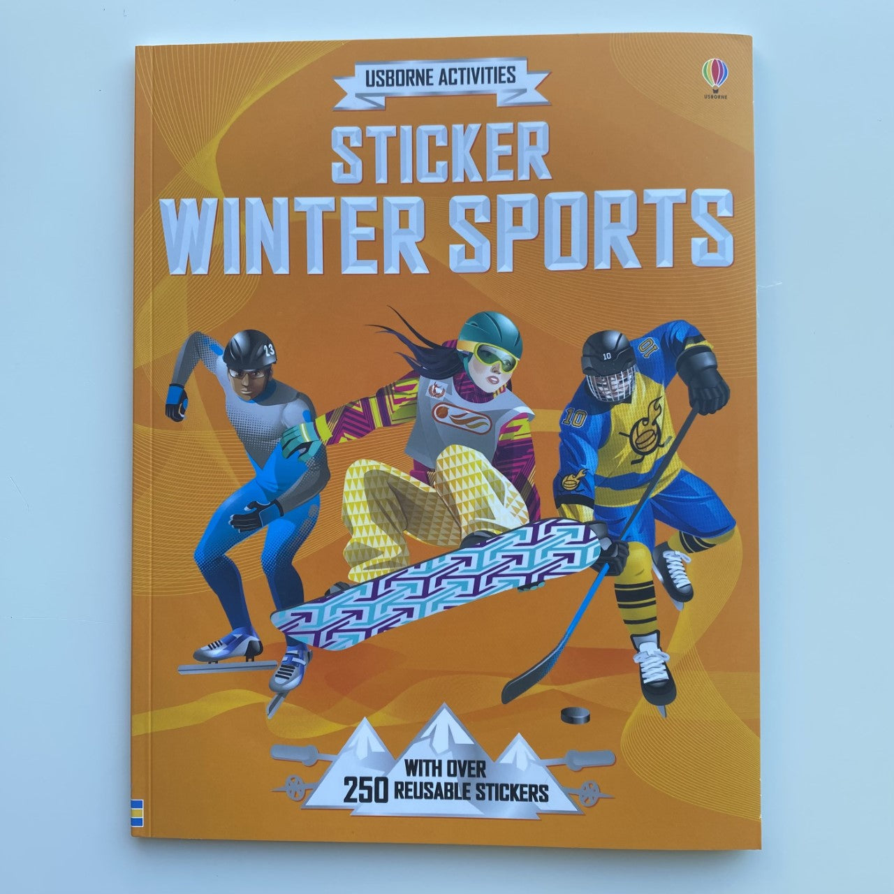 Sticker Winter Sports - Activity Book