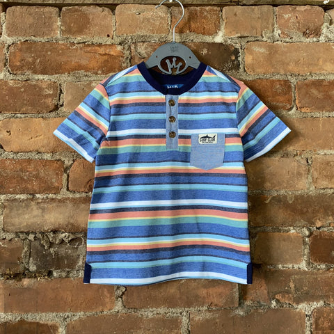 Surf Club Caribbean Stripe Tee