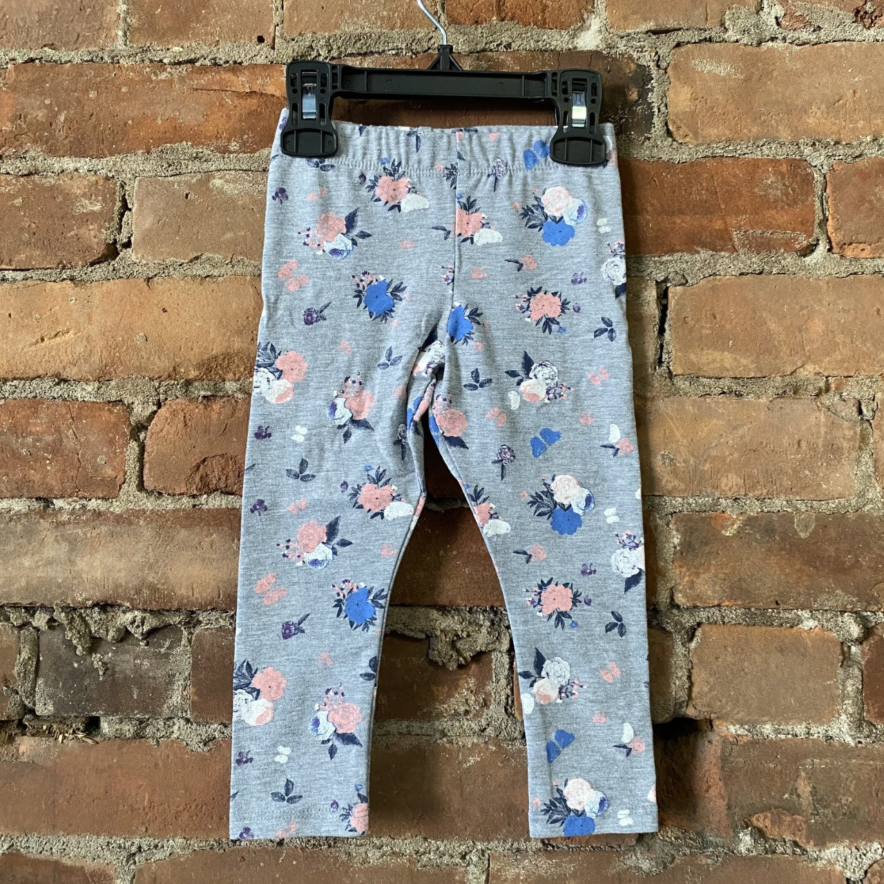 Grey Mix Floral Legging