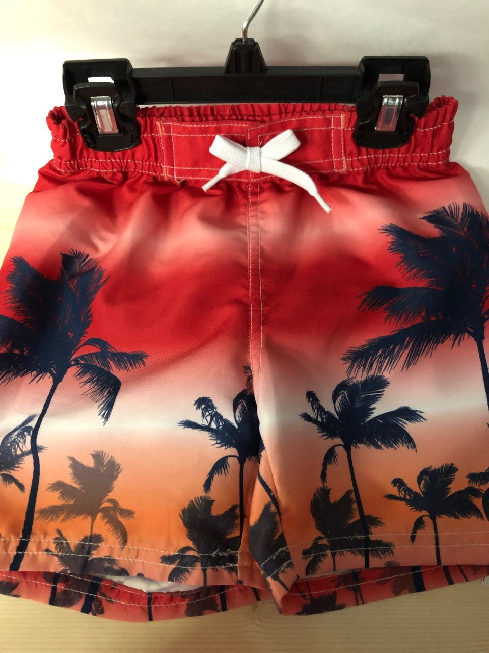 Palm Swim Trunks - Lullaby's Boutique