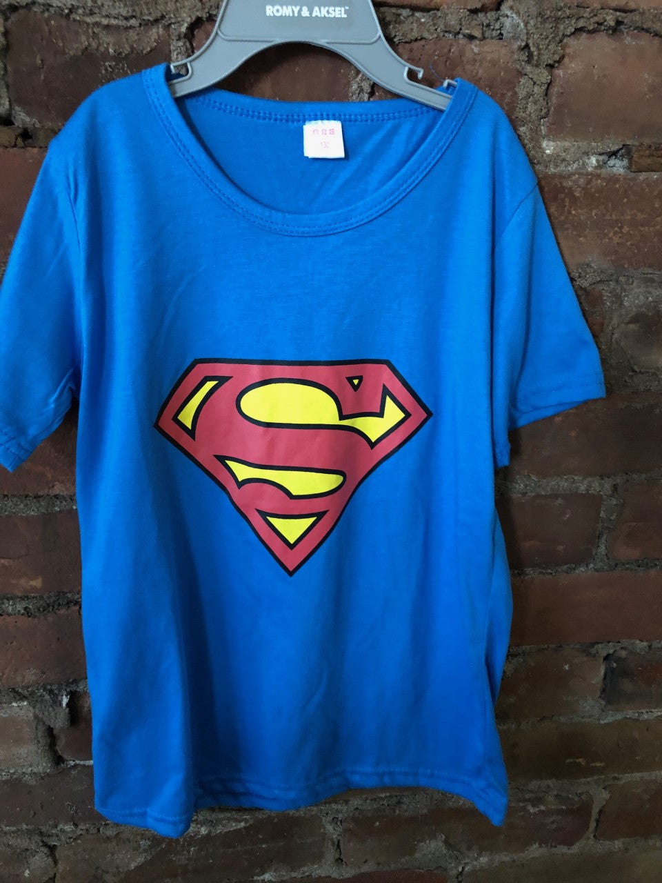 Superman Tee - Lullaby's Boutique
