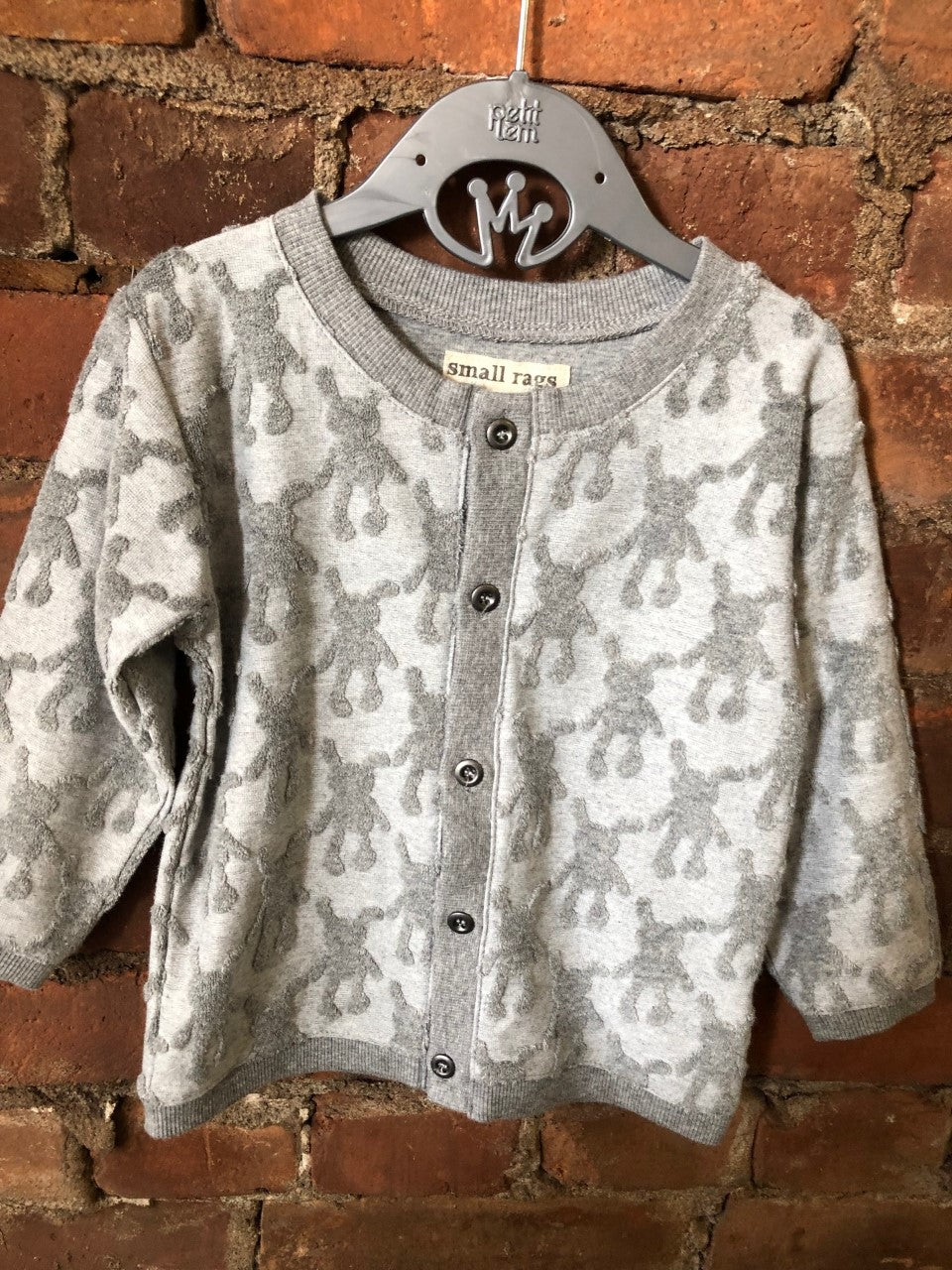 Mr. Rags Button Up Sweater - Lullaby's Boutique