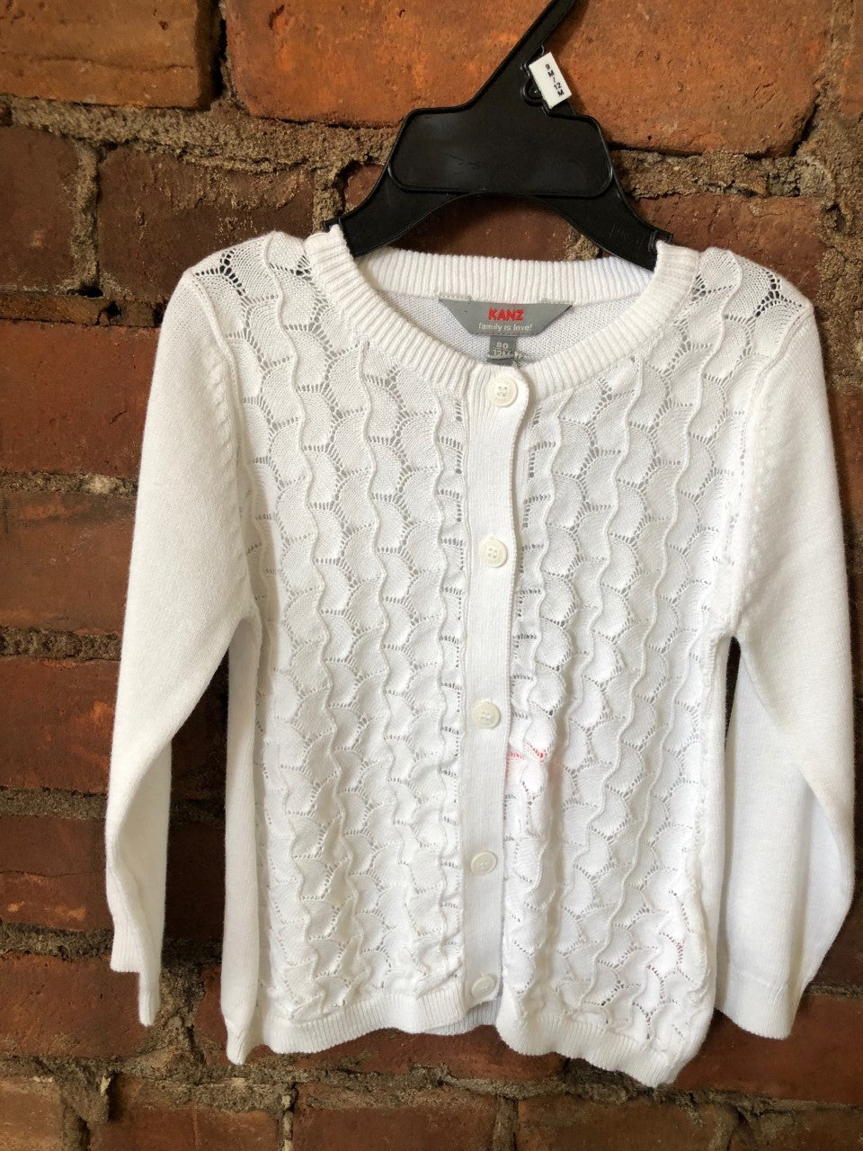 White Knit Cardigan - Lullaby's Boutique