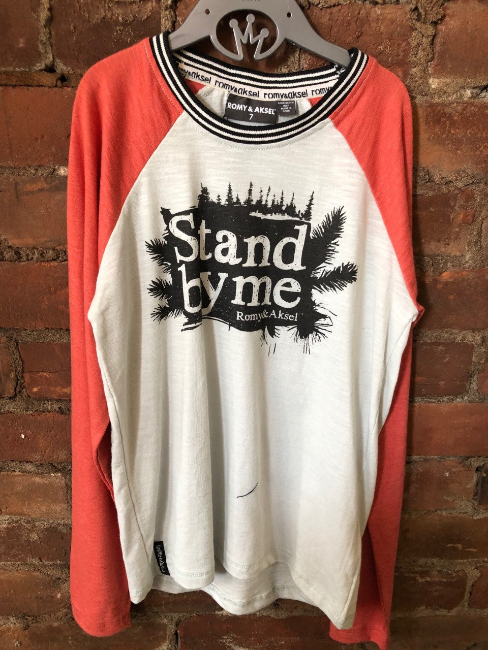Stand by Me Long Sleeve Raglan Tee - Lullaby's Boutique