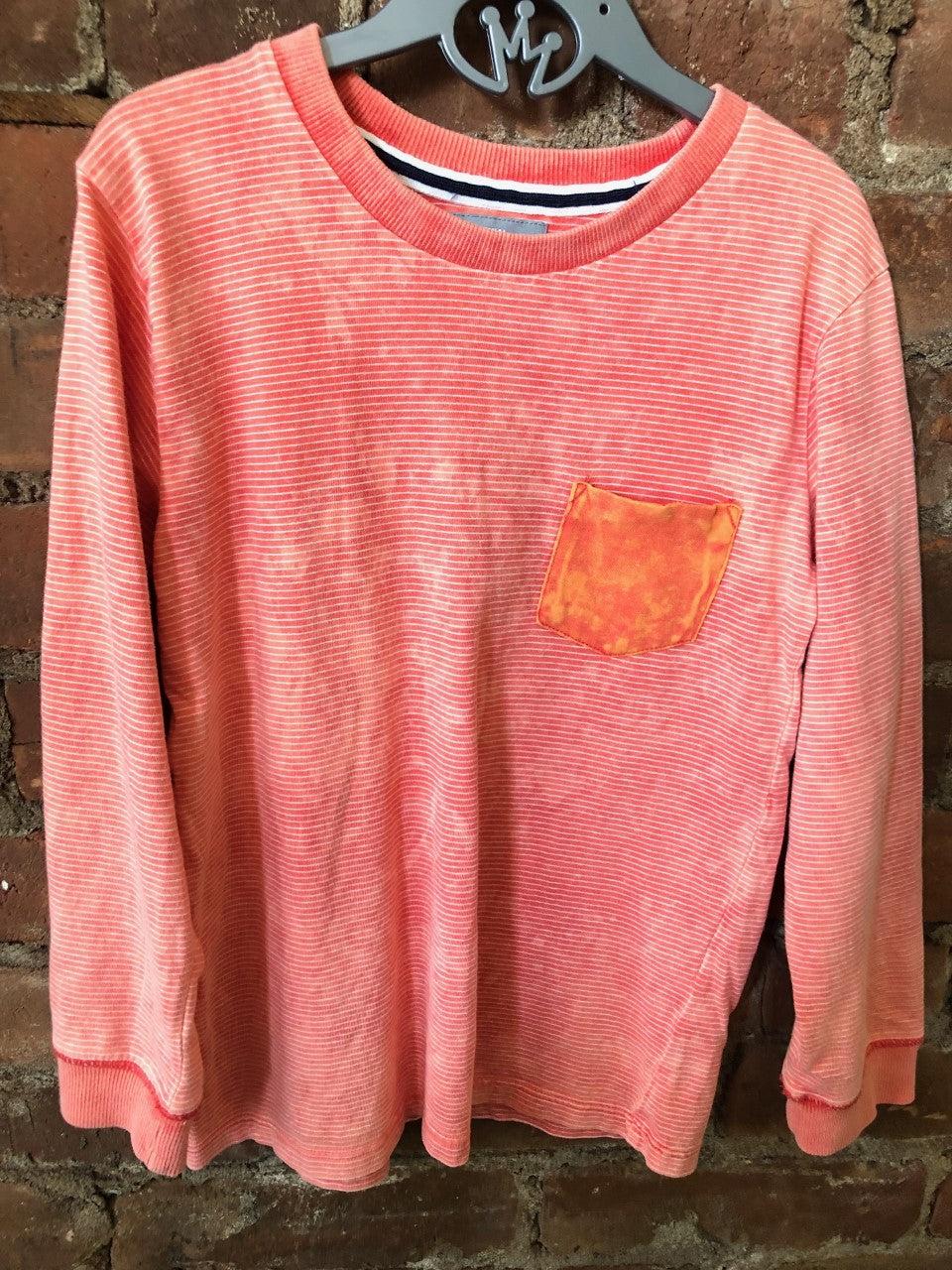 Orange Baseball Tee - Lullaby's Boutique
