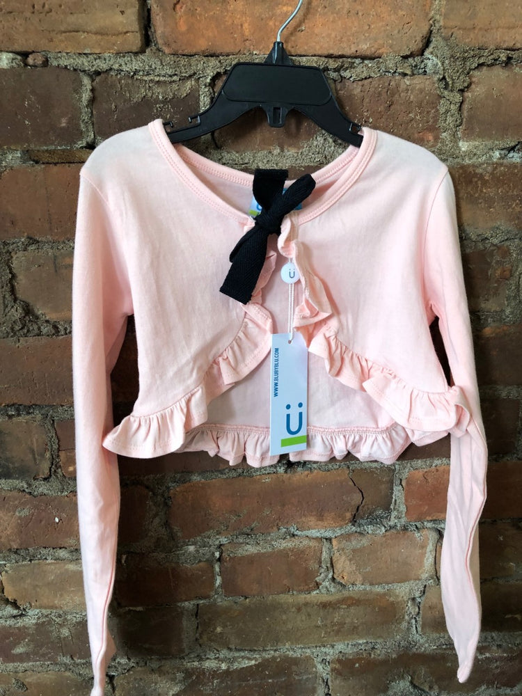 Pink Tie up Bolero - Lullaby's Boutique