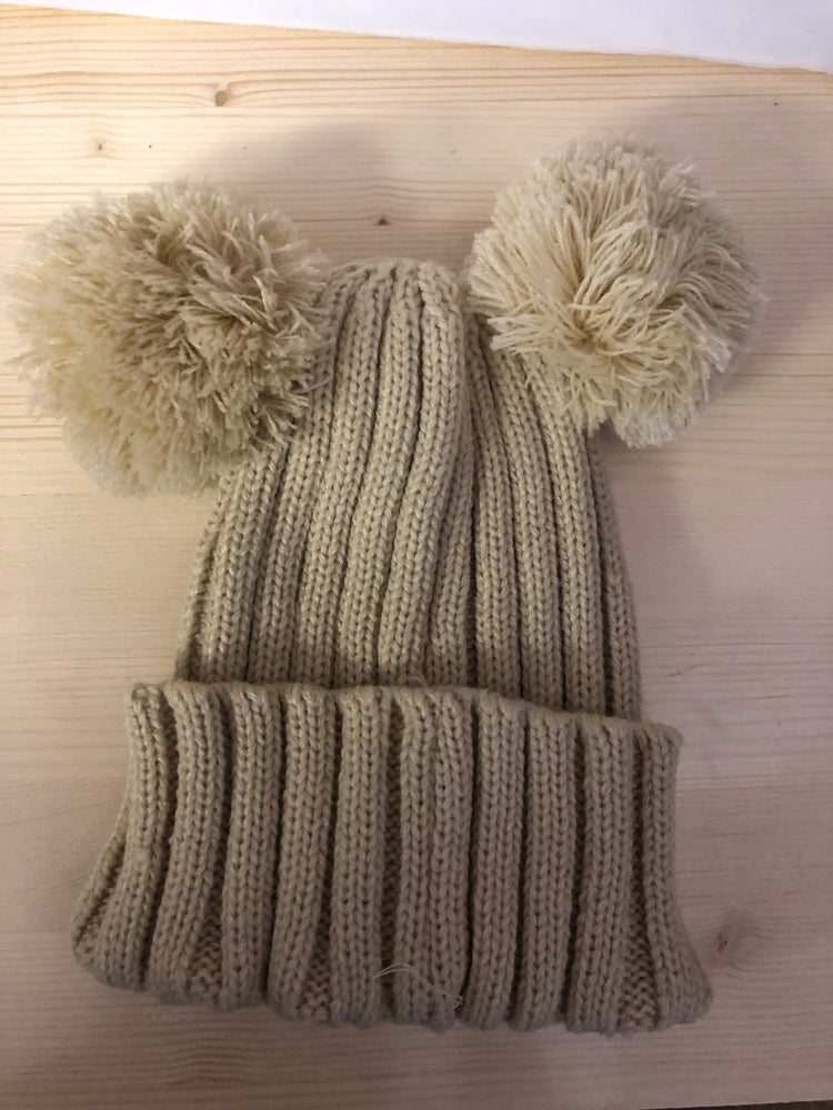 Pom Pom Knit Hat - Lullaby's Boutique