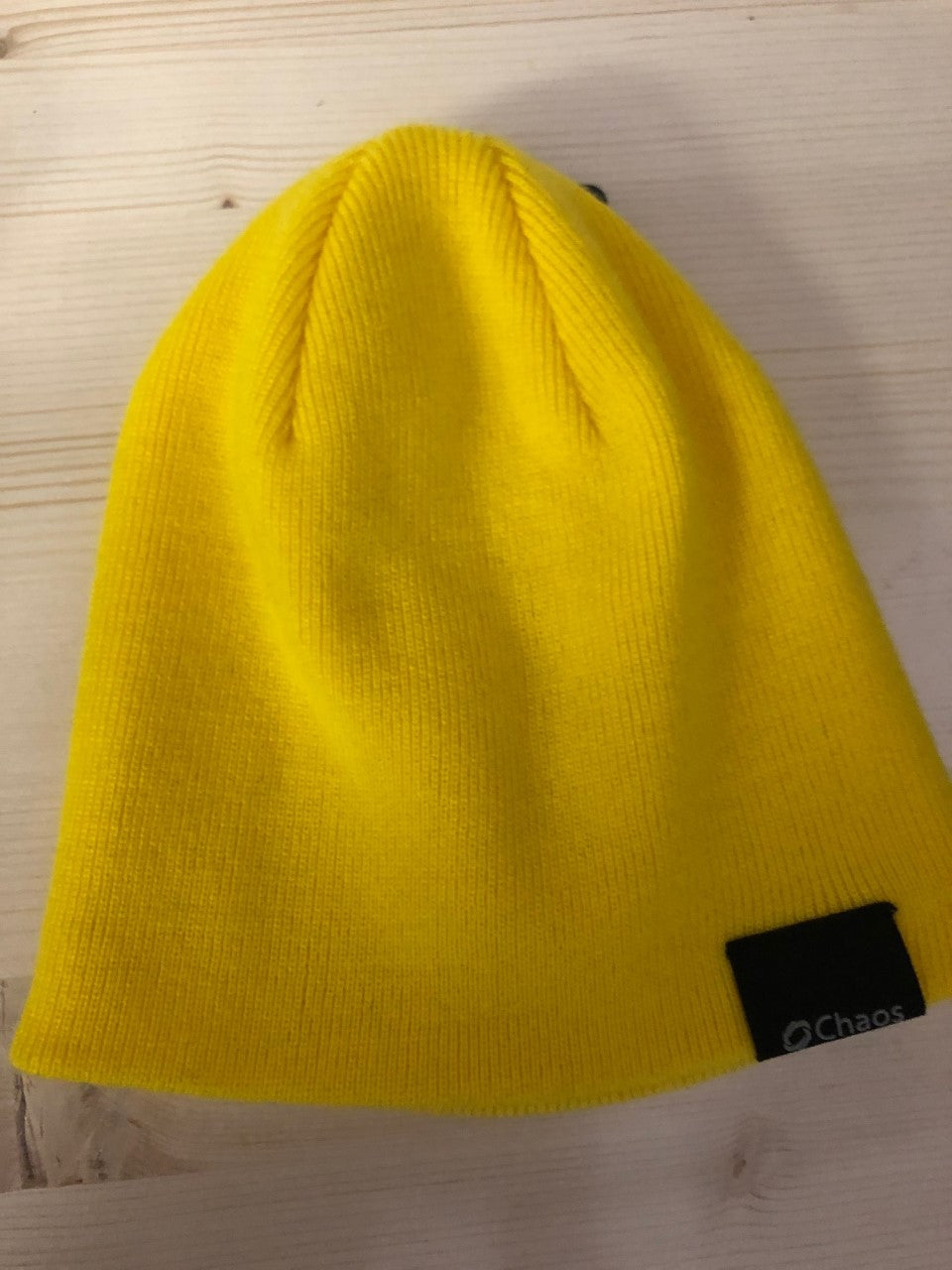 Chaos Yellow Beanie Hat - Lullaby's Boutique