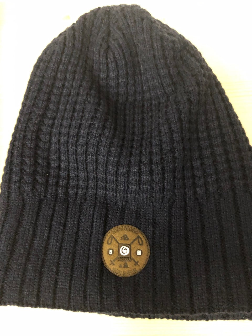 Brekka Navy Knit Hat - Lullaby's Boutique