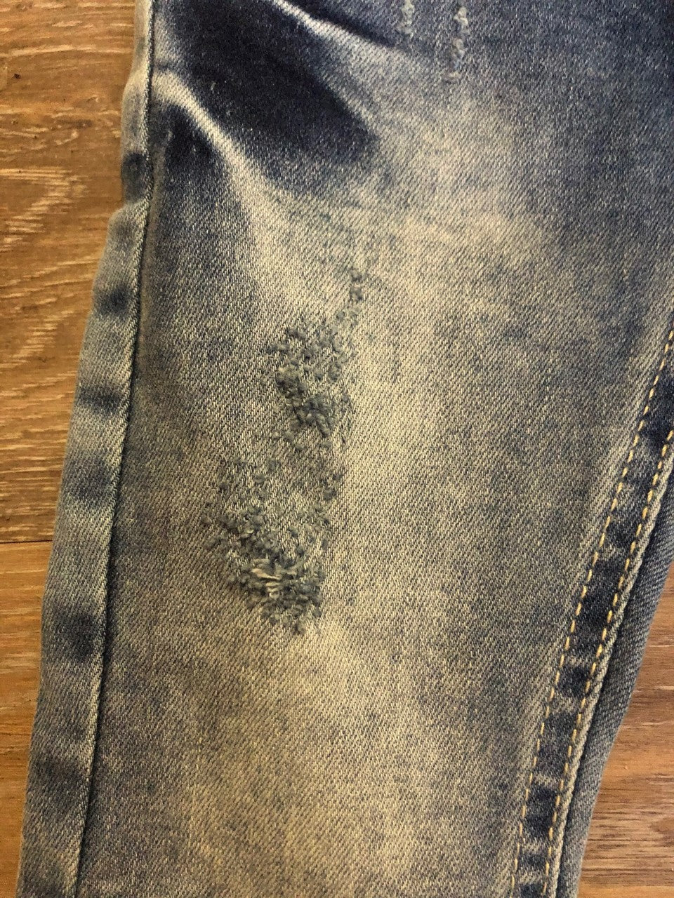 Happy Days Distressed Denim Jeans - Lullaby's Boutique