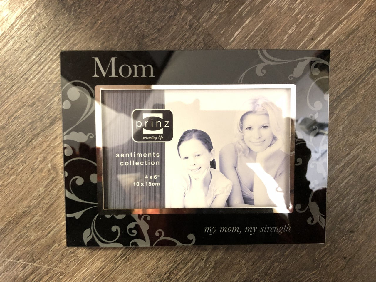 my mom, my strength Photo Frame - Lullaby's Boutique