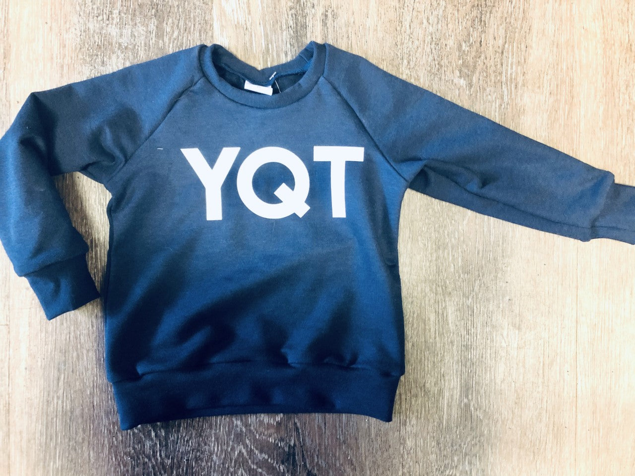 YQT City Code Sweater - Lullaby's Boutique