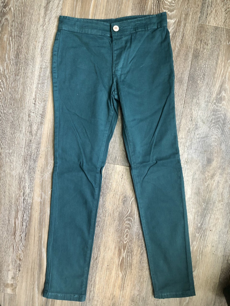 Pull-On Teal Pants - Lullaby's Boutique