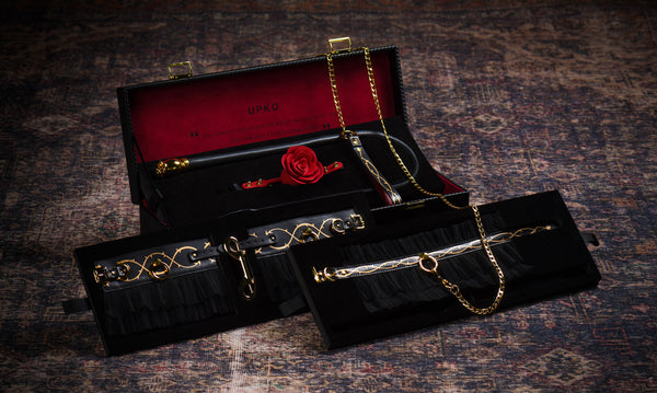 UPKO Luxurious &Romantic Bondage Play Kit