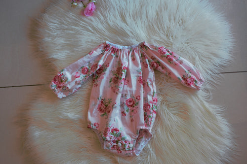 Peasant Romper - Hollie
