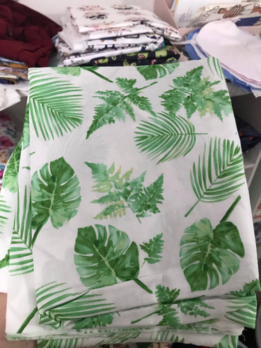 Leafy - Fitted Cot Sheet