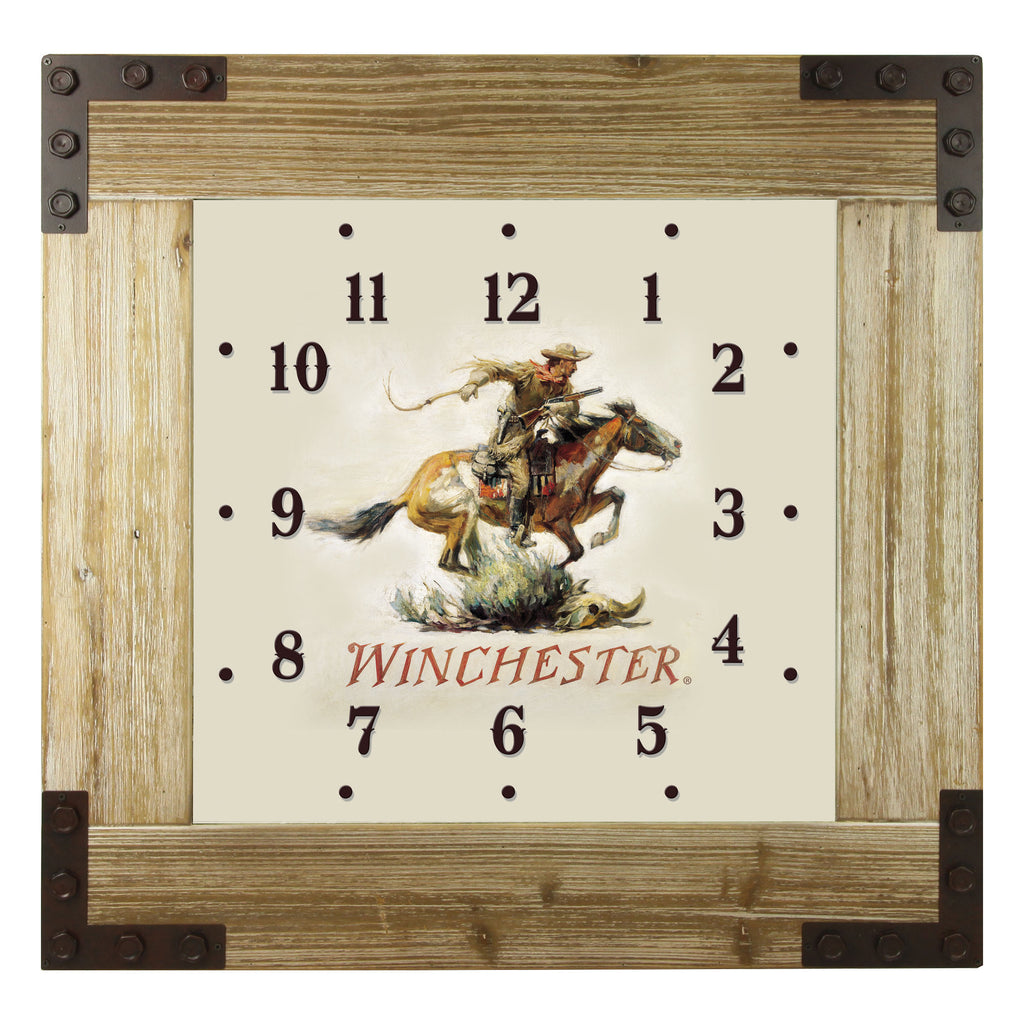 Clock Wood Frame 24-inch - Winchester
