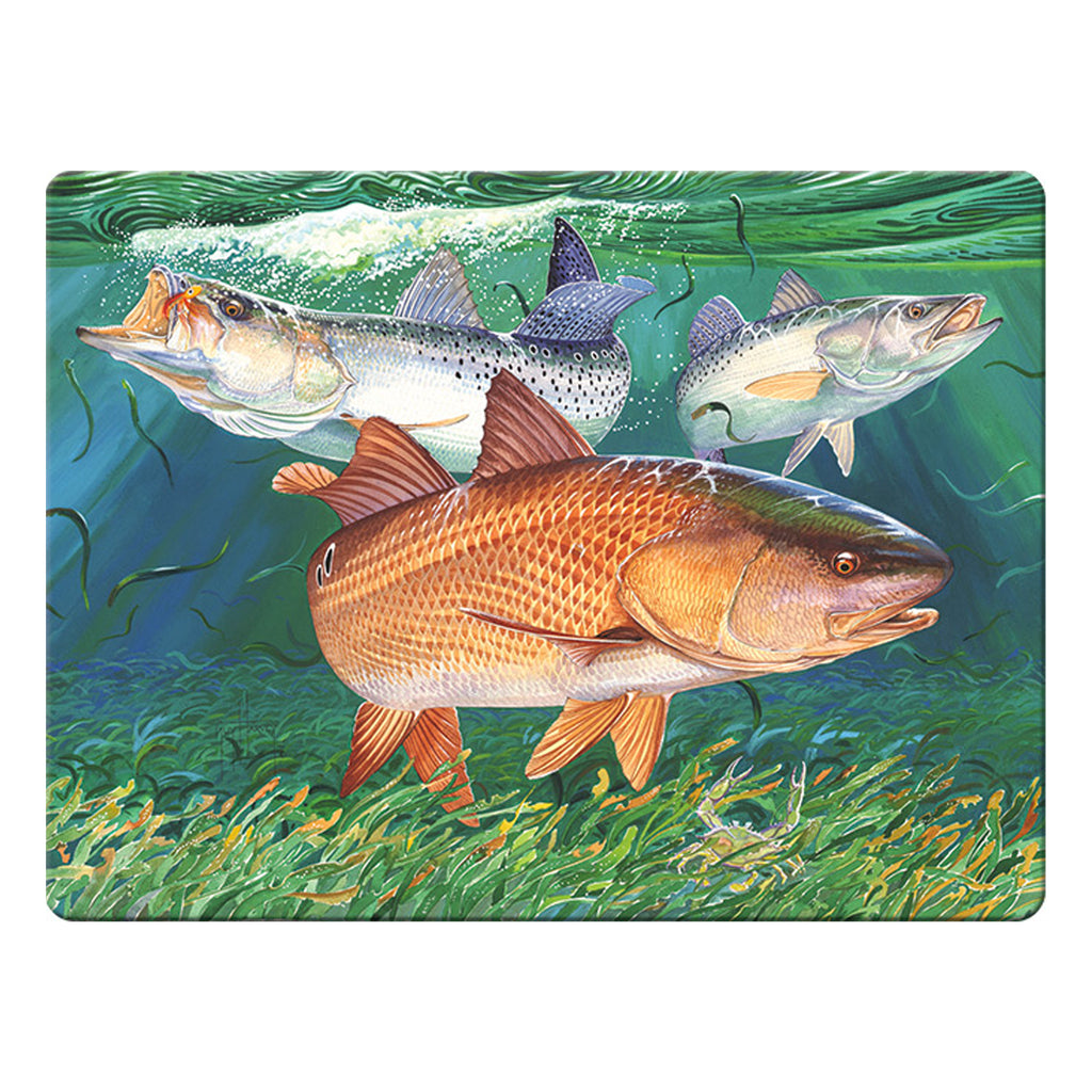 Cutting Board 12in x 16in - Redfish