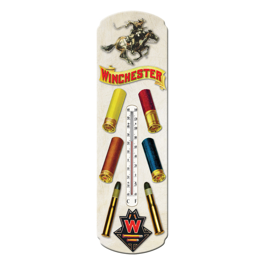 Tin Thermometer - Winchester Ammo