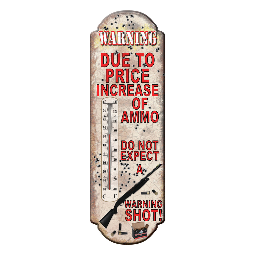 Tin Thermometer - Due to Price