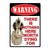 Metal Tin Signs, Funny, Vintage, Personalized 12-Inch x 17-Inch - Not Worth Dying