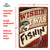 Metal Tin Signs, Funny, Vintage, Personalized 12-Inch x 17-Inch - Wishin/Fishin