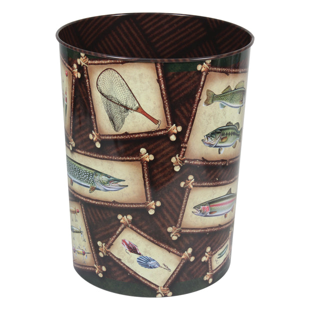 Waste Basket - Fishing Theme