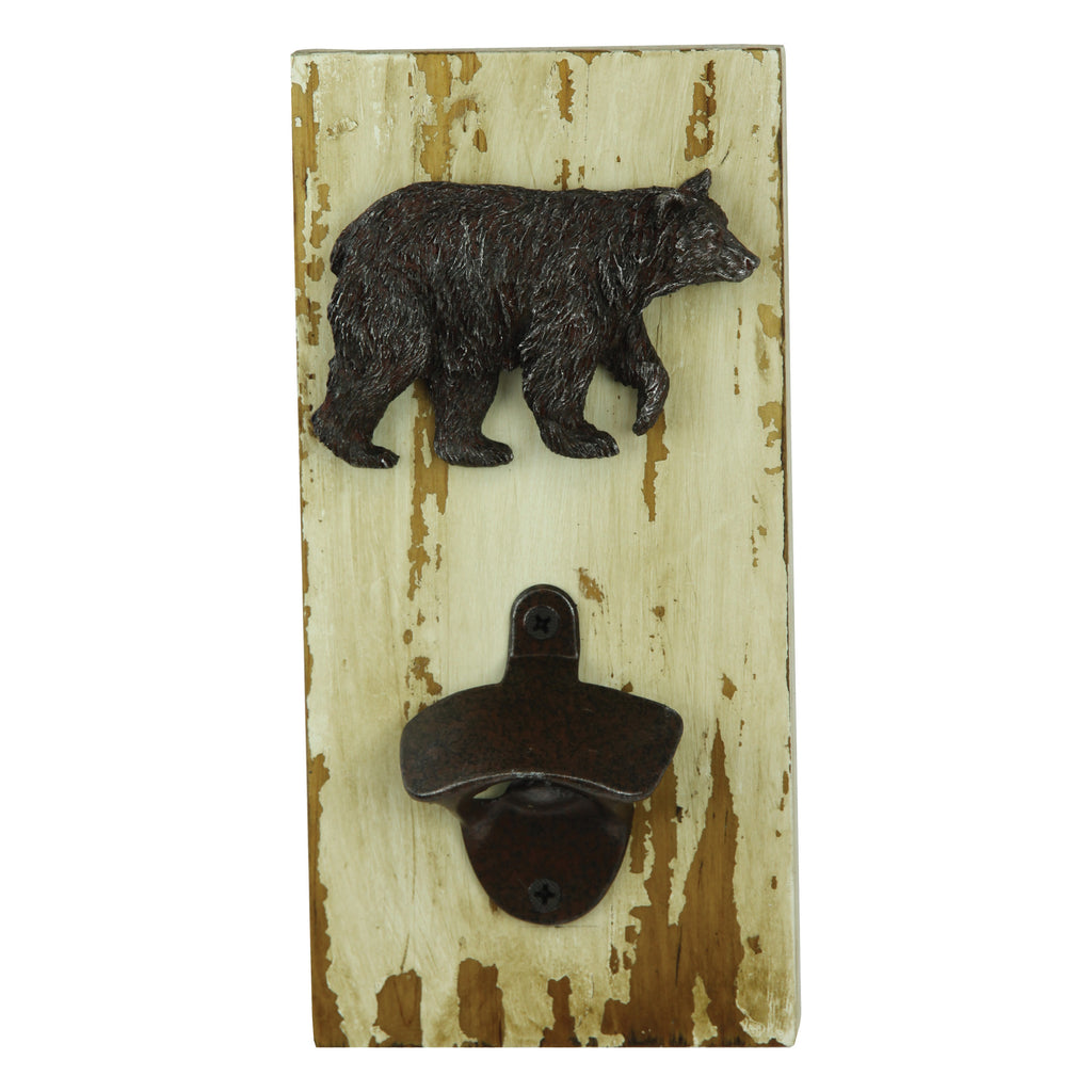 Bottle Opener - Rustic Bear