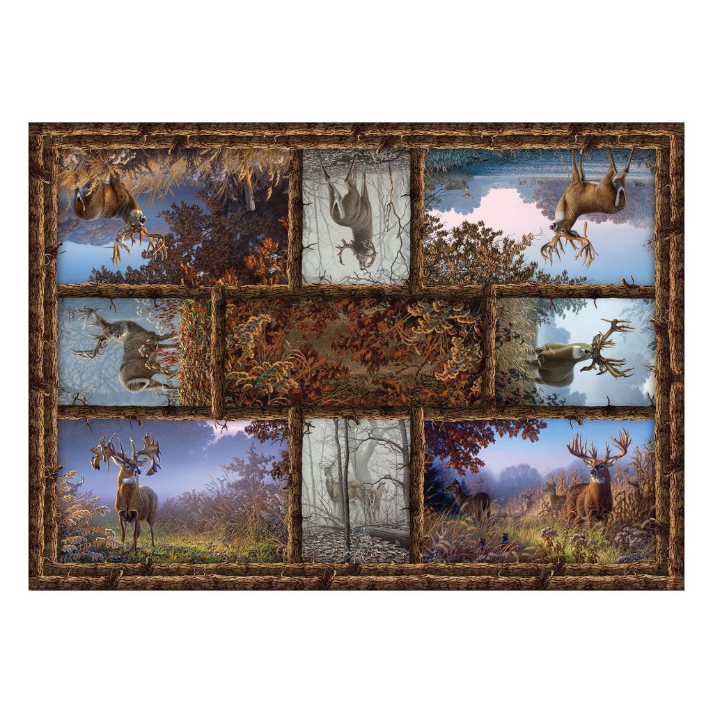 Door Mat Woven 52in x 37in - Deer