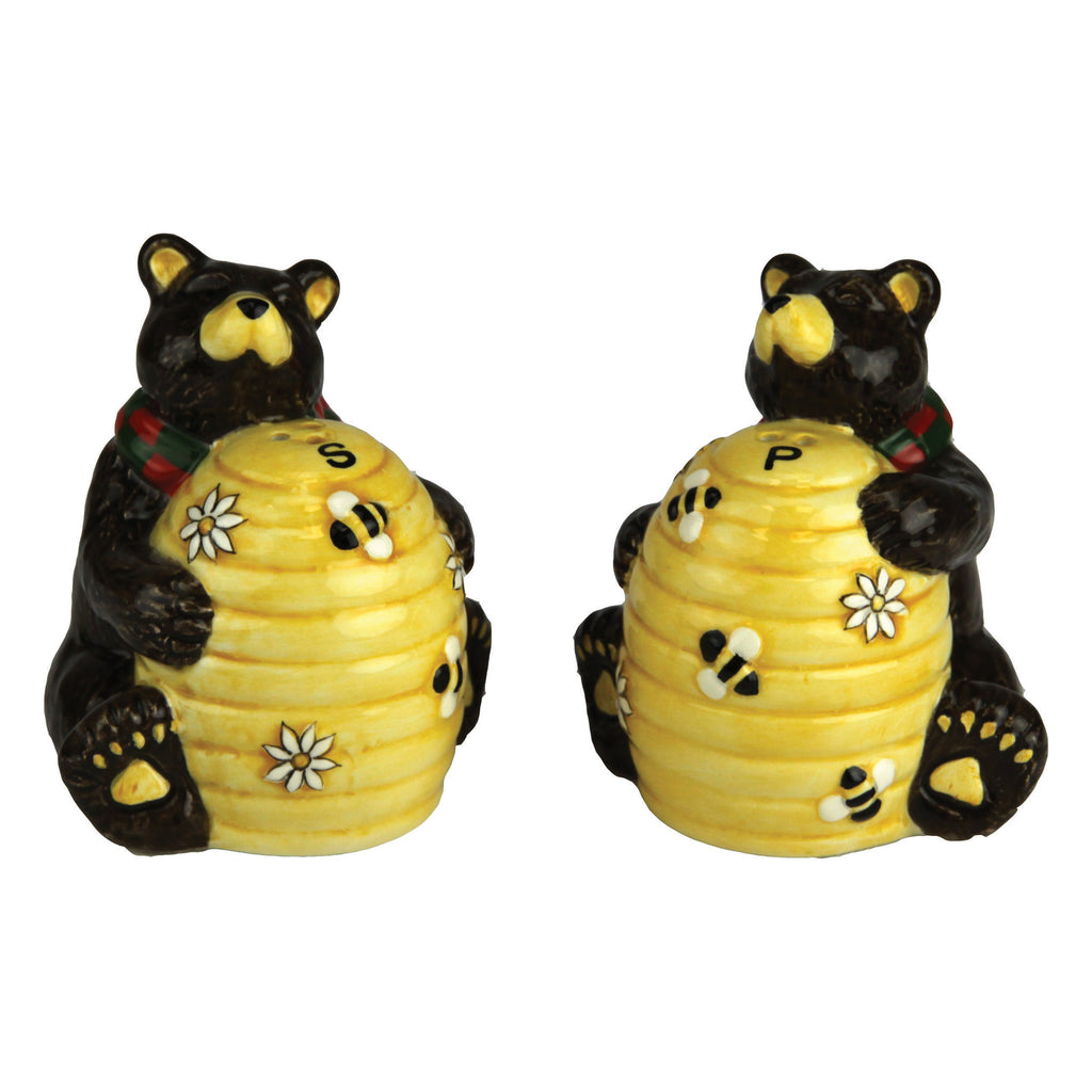 Salt and Pepper Shakers - Bear