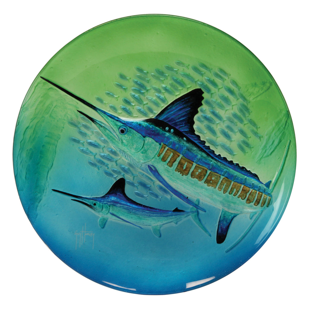 Platter 18in - Guy Harvey Marlin