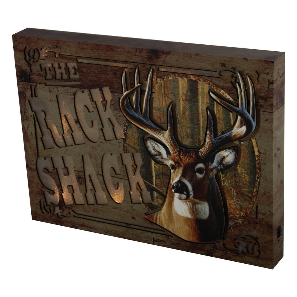 Wall Sign LED - Rack Shack