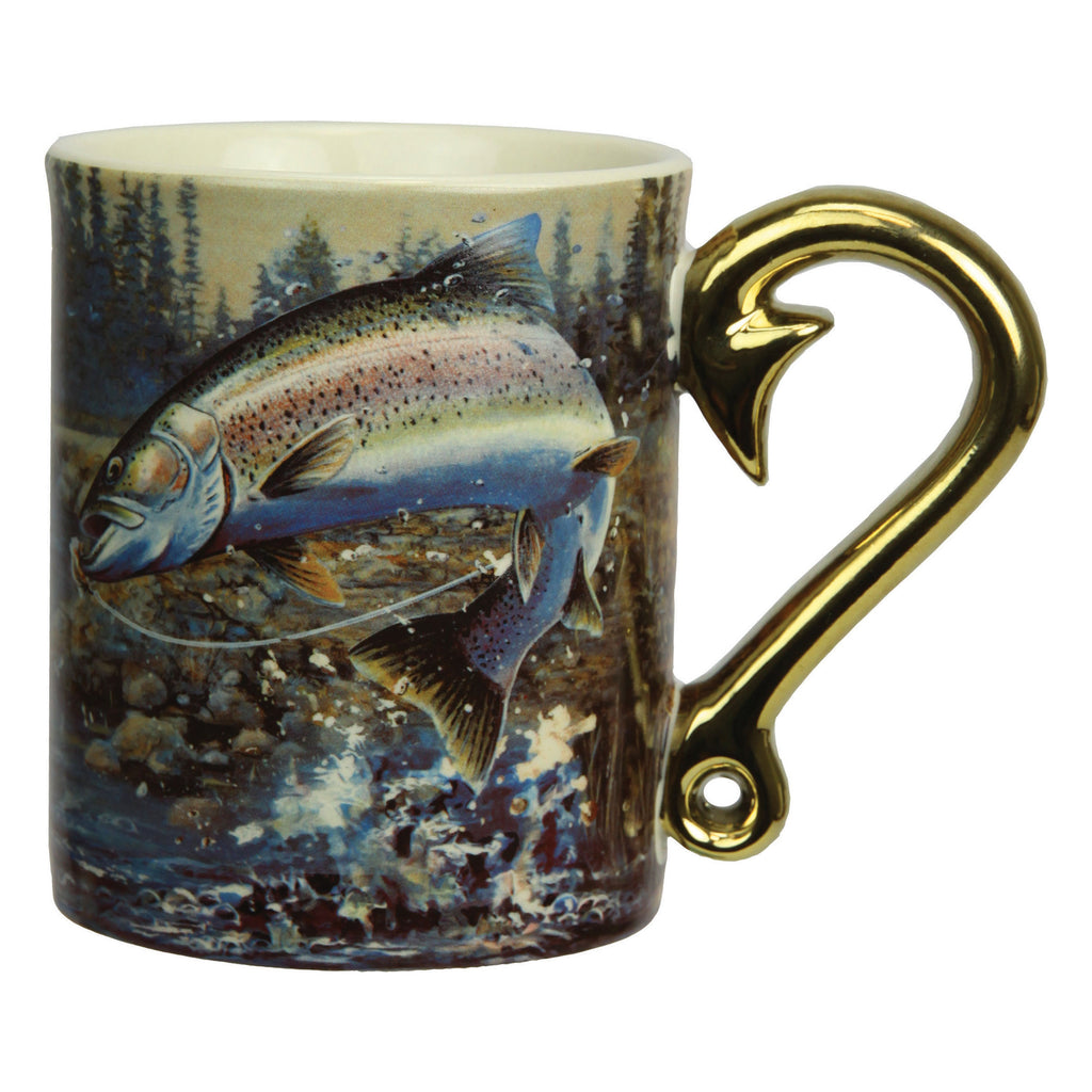 Ceramic Mug 3D 15oz - Rainbow Trout