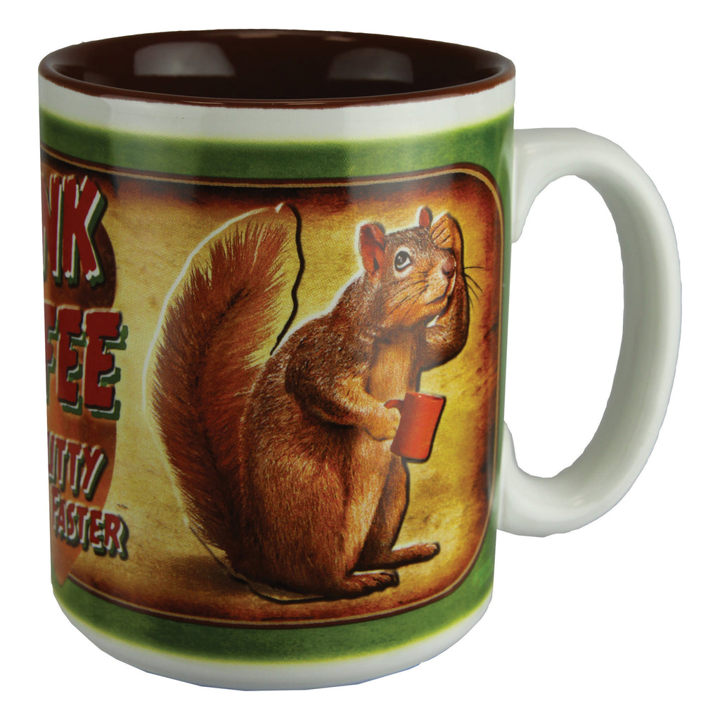 Ceramic Mug 16oz - Drink Coffee