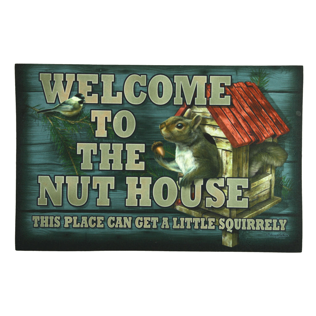 Door Mat Rubber 26-inches by 17-inches - Nut House