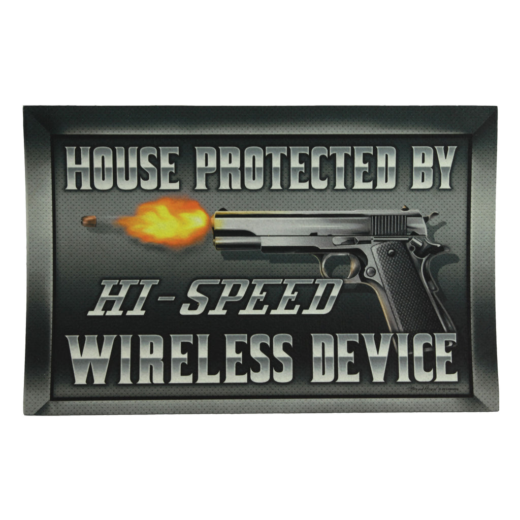 Door Mat Rubber 26-inches by 17-inches - Hi-Speed Wireless