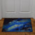Door Mat Rubber 26-inches by 17-inches - Guy Harvey Marlin