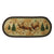Braided Rug 48-inch Oval - Deer