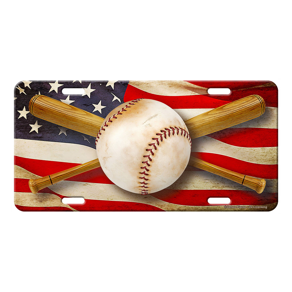 Vanity License Plate 12in x 6in - American Baseball