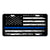 Vanity License Plate 12in x 6in - American Blue Line