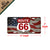 Vanity License Plate 12in x 6in - American Route 66