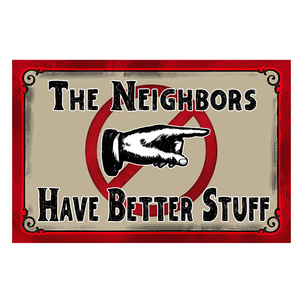 Door Mat Rubber 26in x 17in - Neighbors