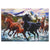 Jigsaw Puzzle in Tin 1000-Piece - Black Stallion Friends