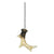 Ceiling Fan Pull - Deer Antler